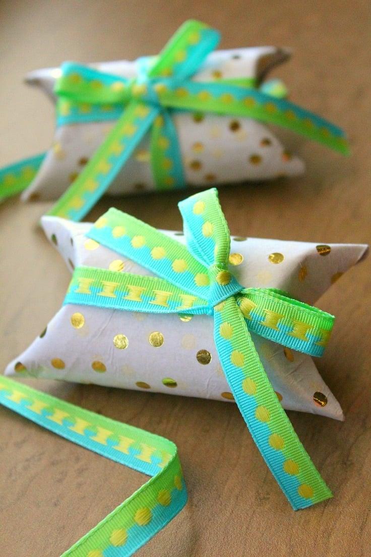 Geschenke basteln mit Klopapier