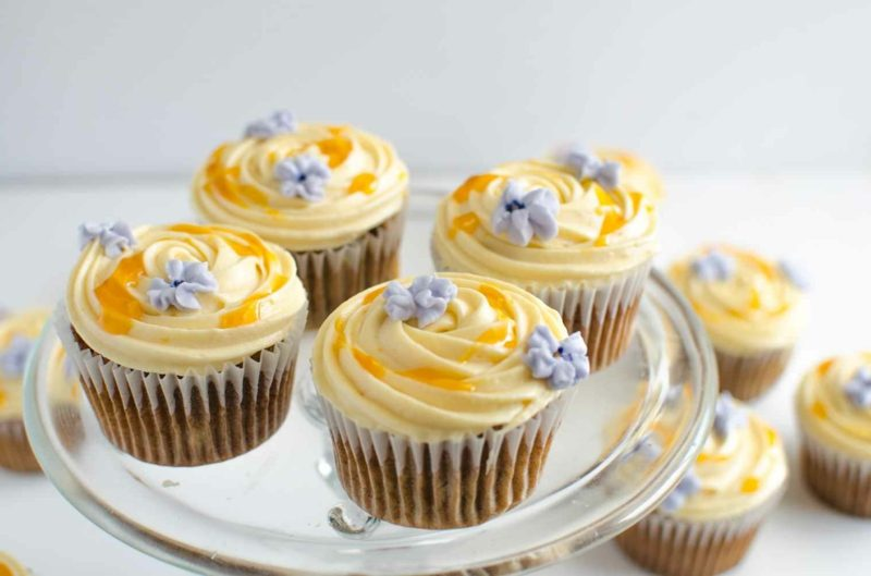 frischkäse creme cupcakes