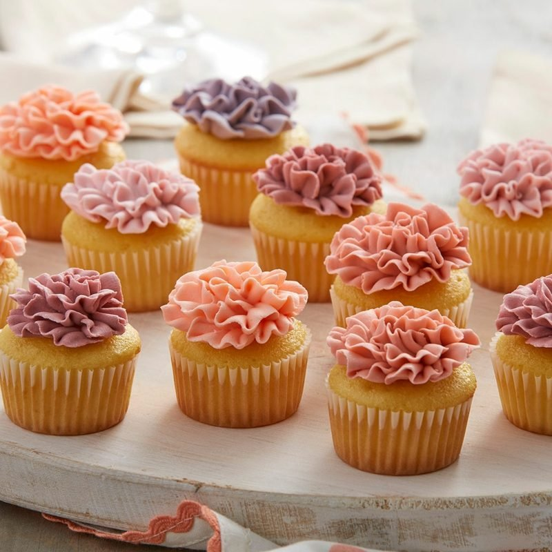 mini cupcakes frosting