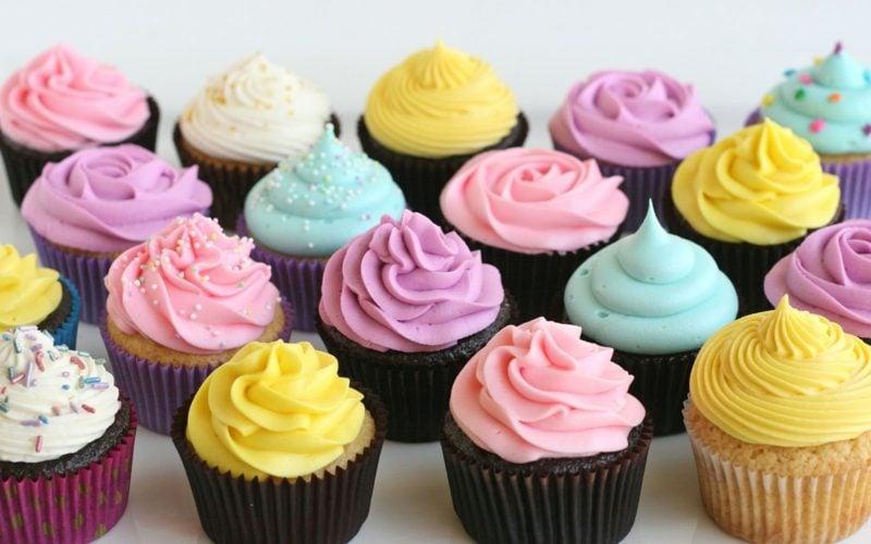 schokoladen cupcakes topping