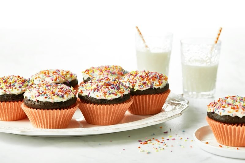 schoko cupcakes frischkäse frosting