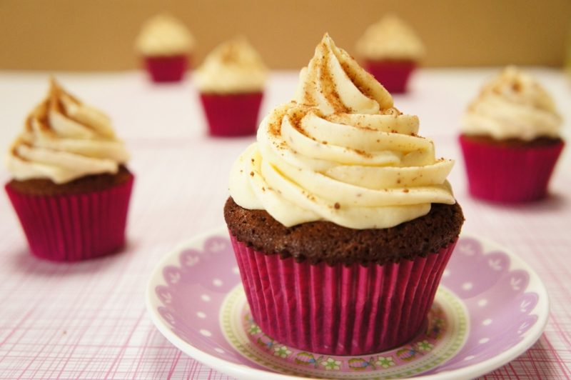 cupcake vanille frosting