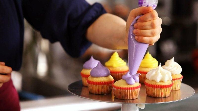 cupcakes dekorieren frosting