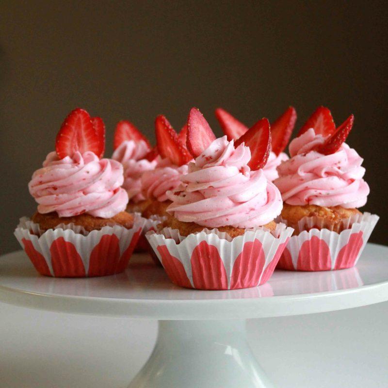 erdbeeren frischkäse topping