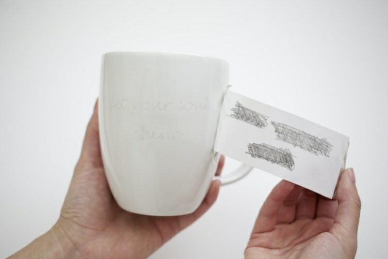 Tassen bemalen einfache Anleitung