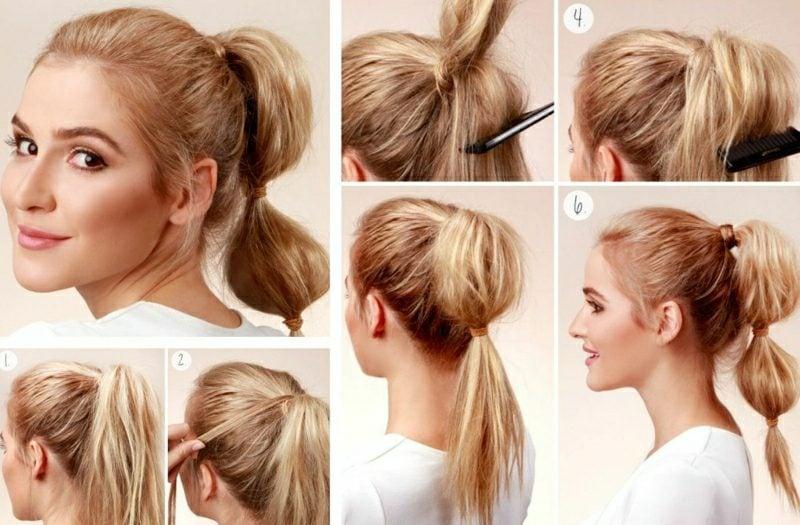 Frisuren schulterlanges Haar