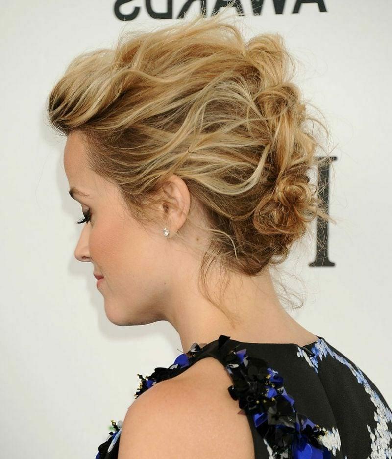Hochsteckfrisuren selber machen kurze Haare