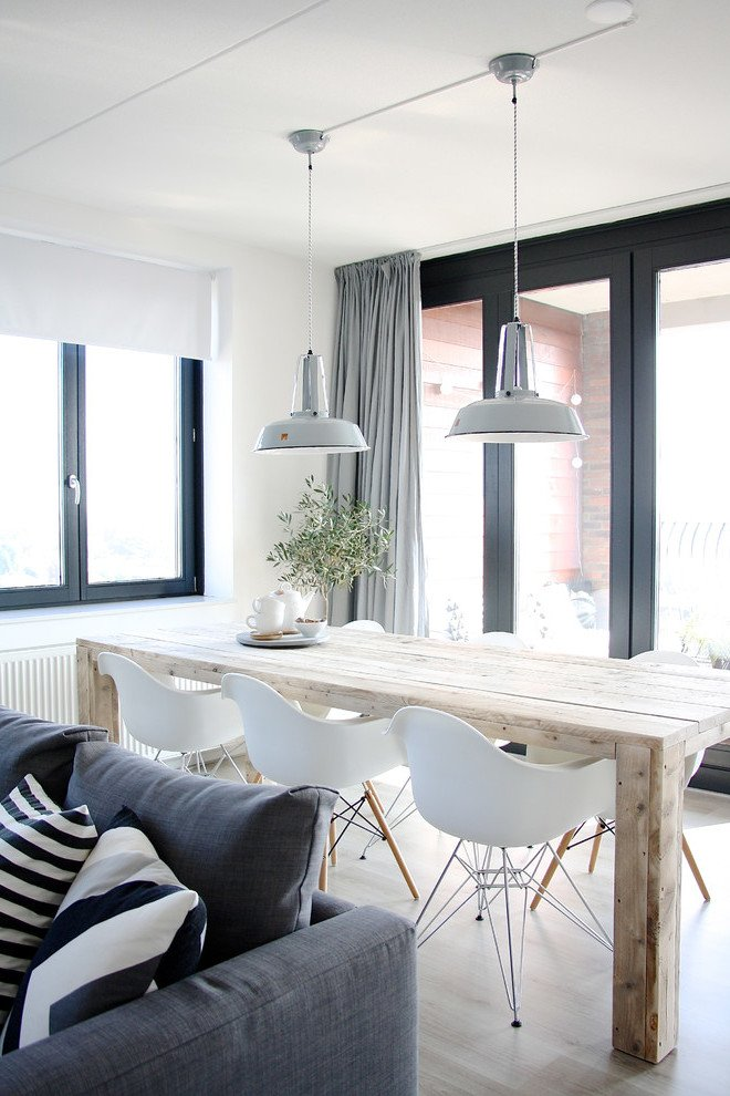 Fensterdeko skandinavische Einrichtung