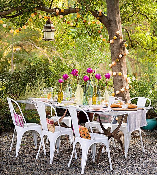 Gartenideen DIY Deko