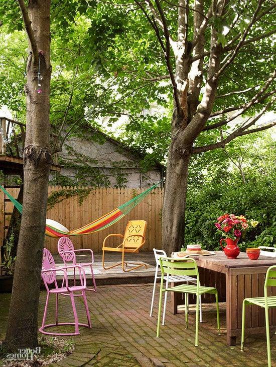 Garten bunte Ideen