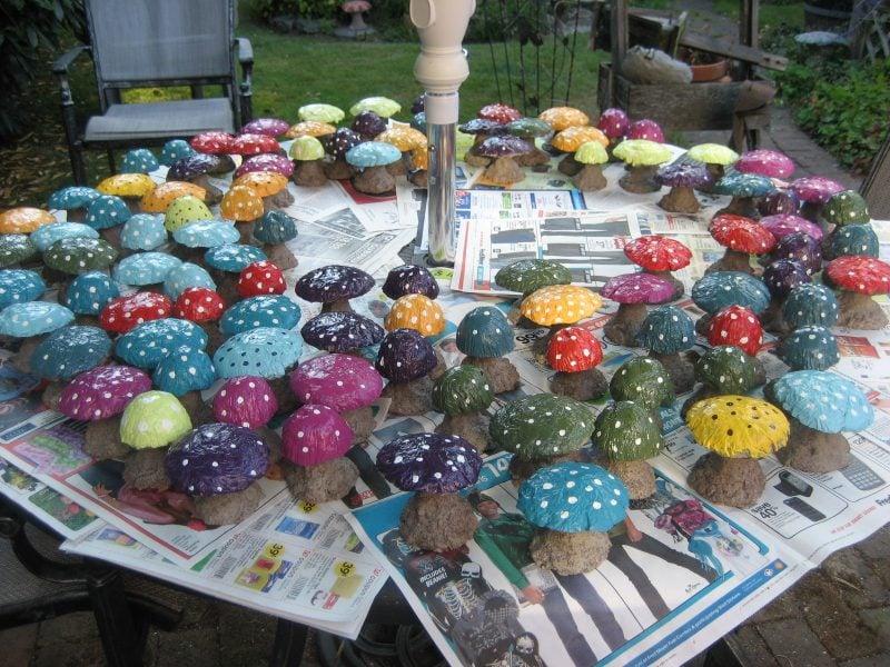 Gartenideen für wenig Geld Bodenbelag