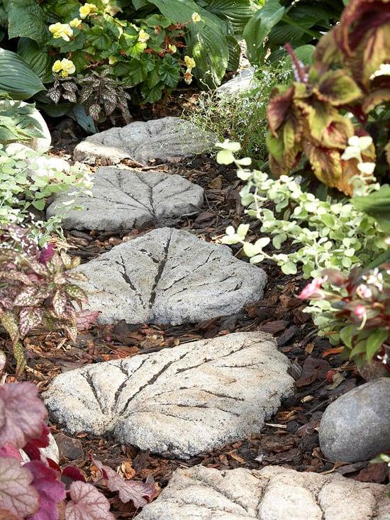 Garten gestalten Ideen - Steingarten selber gestalten