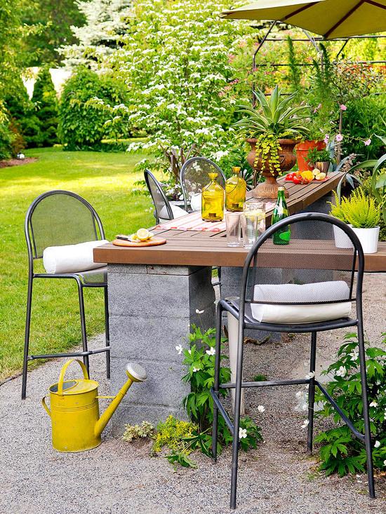 Garten Ideen Dekoration für den Außenbereich
