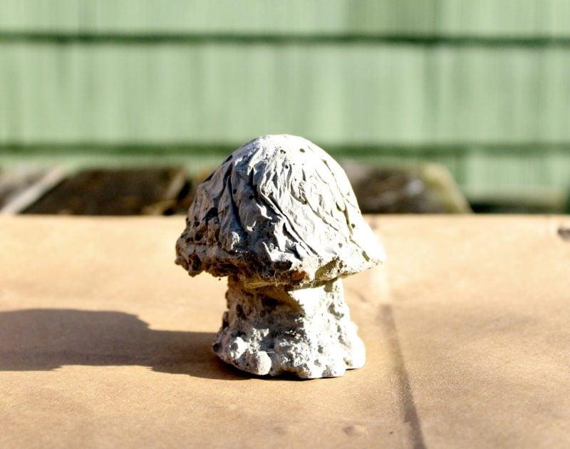 Gartenideen für wenig Geld - DIY Deko Pilzen Anleitung