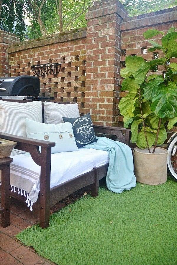 Garten gestalten Ideen - Patio Bereich gestalten