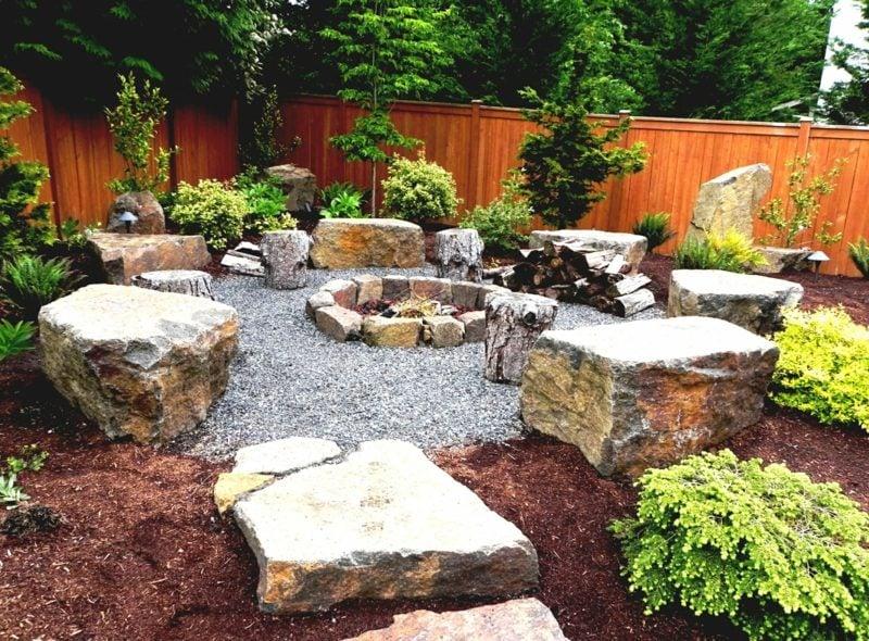 Gartengestaltung mit steinen praktische tipps und 23 for Deko ideen mit pflanzen