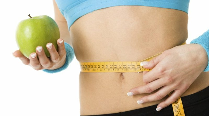 Fett weg Bauch gesunde Ernährung