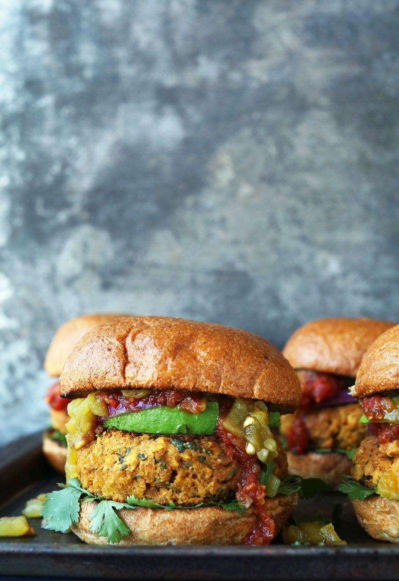 Vegan Burger Gesunde Burger