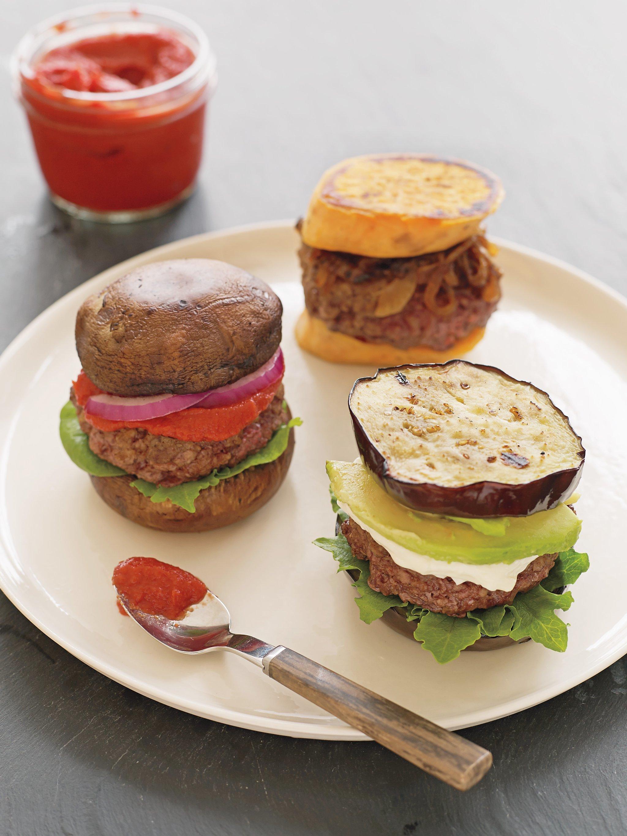 Gesunde Burger Rezepte