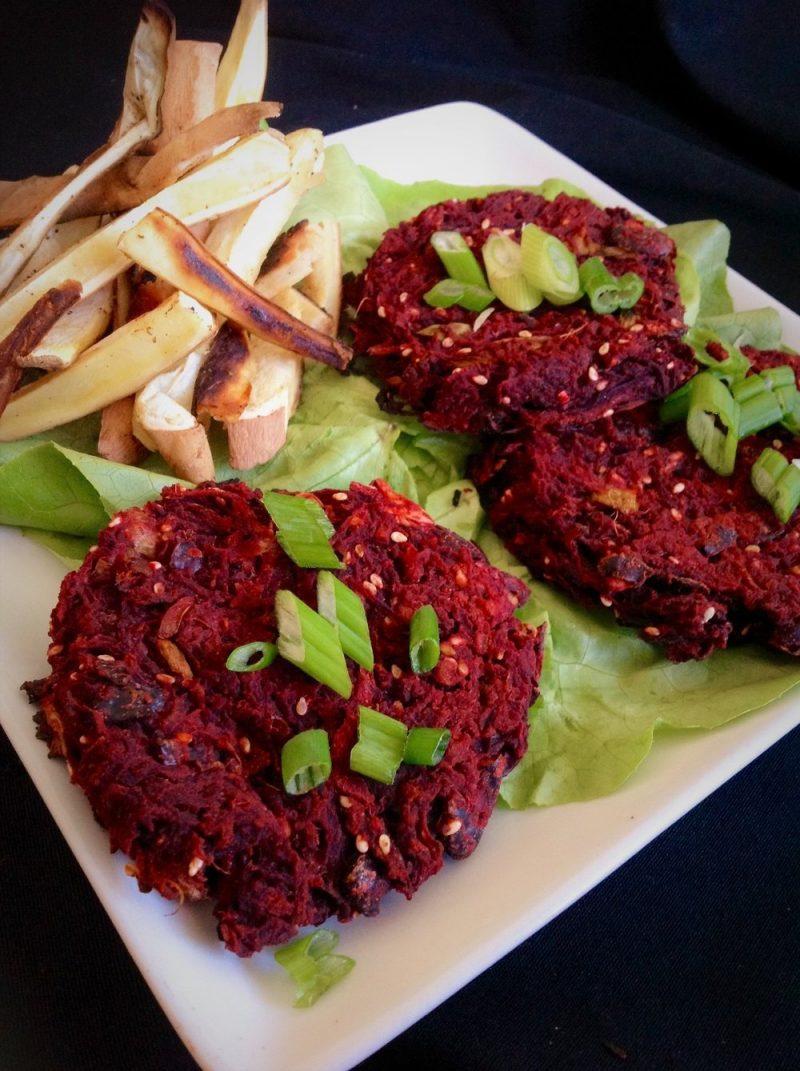 Gesunde Rezepte mit Fleisch Burger