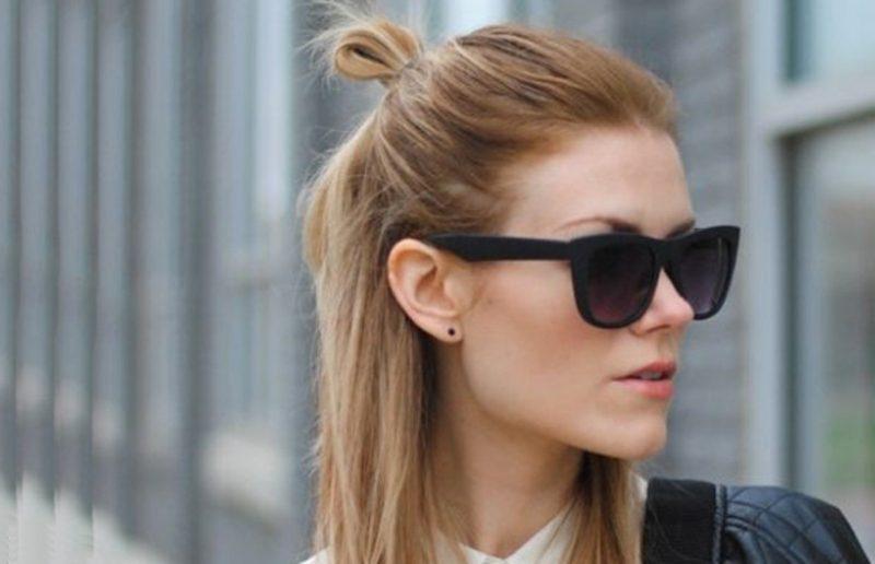 Frisuren mittellange Haare Haarfarben Trends
