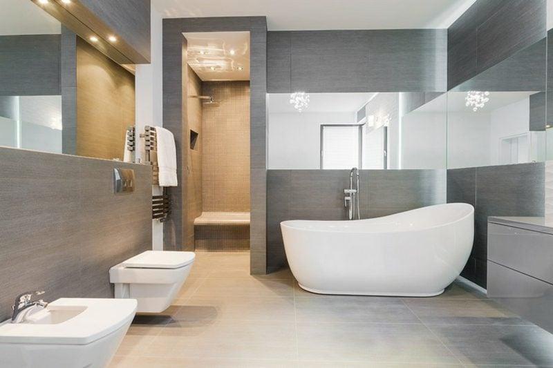 Badezimmer einrichten moderne Ideen