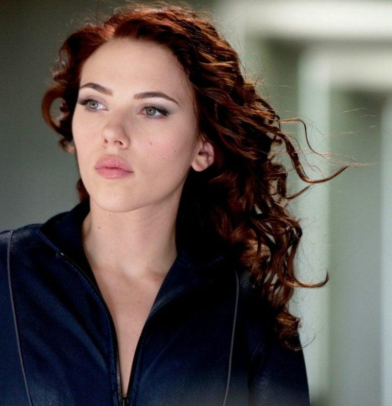 rote Haare grüne Augen Scarlett Johansson