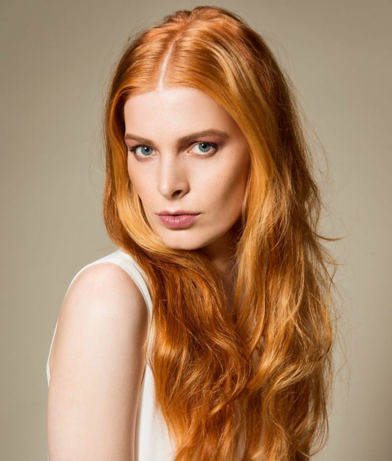 Haarfarben Trends 2017 angesagte Nuancen Pfir