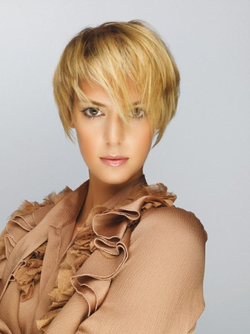 Frisuren für kurze Haare Undercut Frauen