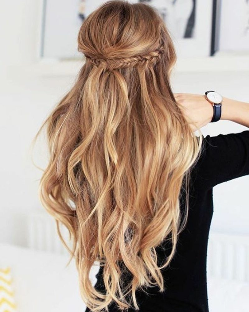 Frisuren Für Lange Haare Moderne Styling Ideen Und Haarfarben Trends