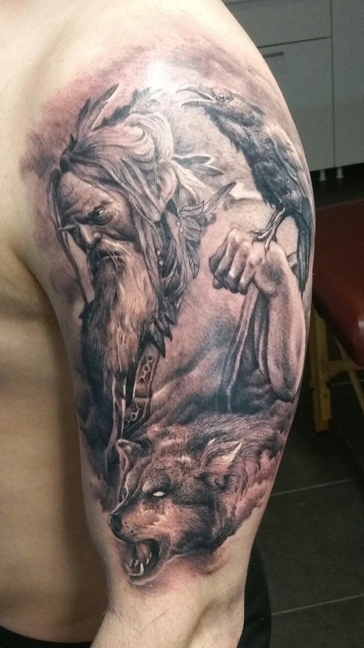 Odin aus der aus der nordischen Mythologie