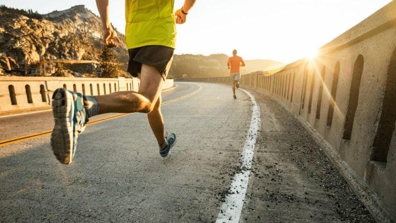 Laufen anfangen Training regelmässig