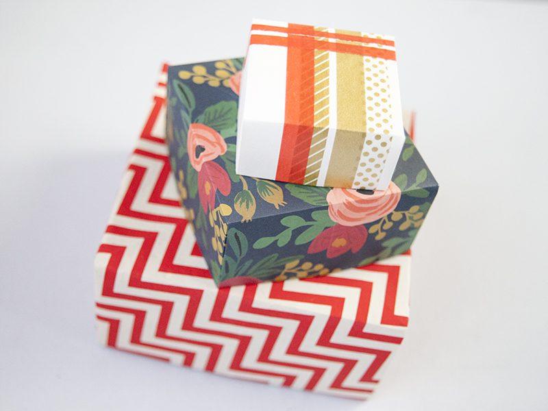 Origami Schachtel falten