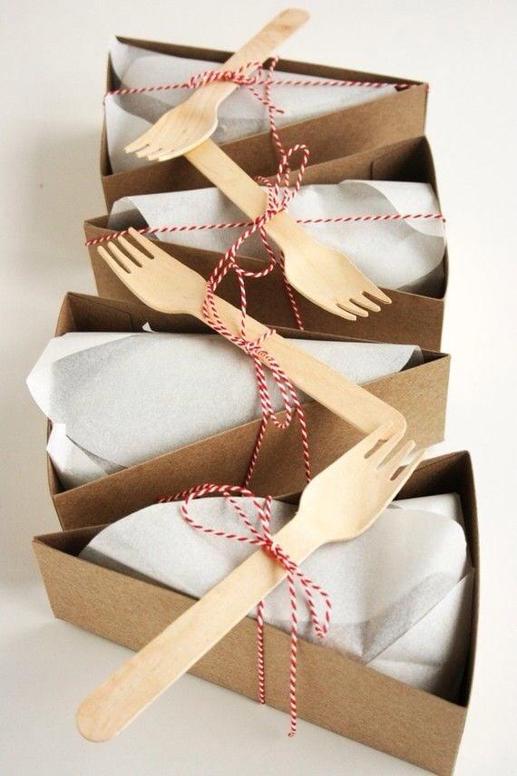 Schachtel falten für Kuchen