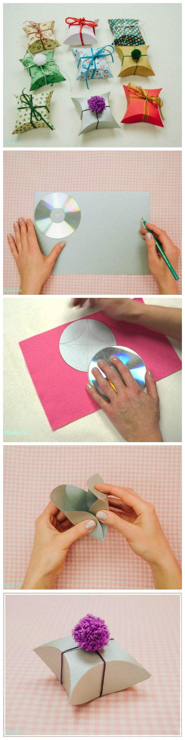 Step By Step Pillow Cake