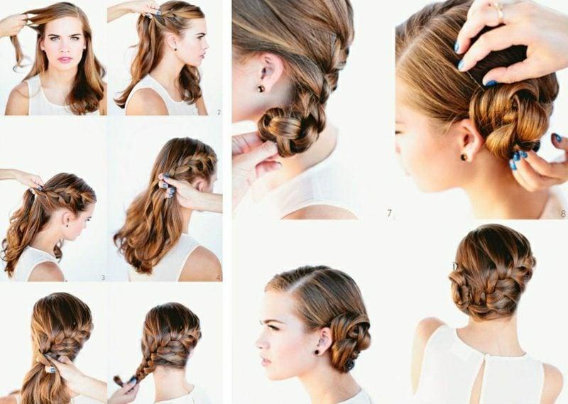 Brautfrisuren lange Haare