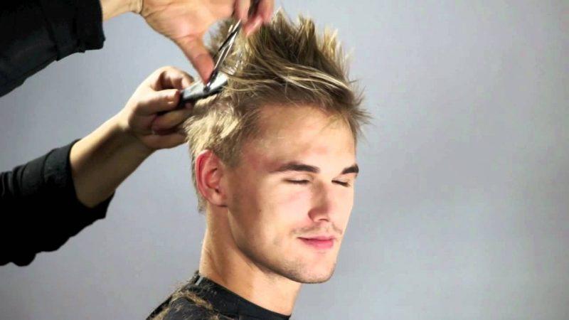 Sidecut Männer trendige Frisuren