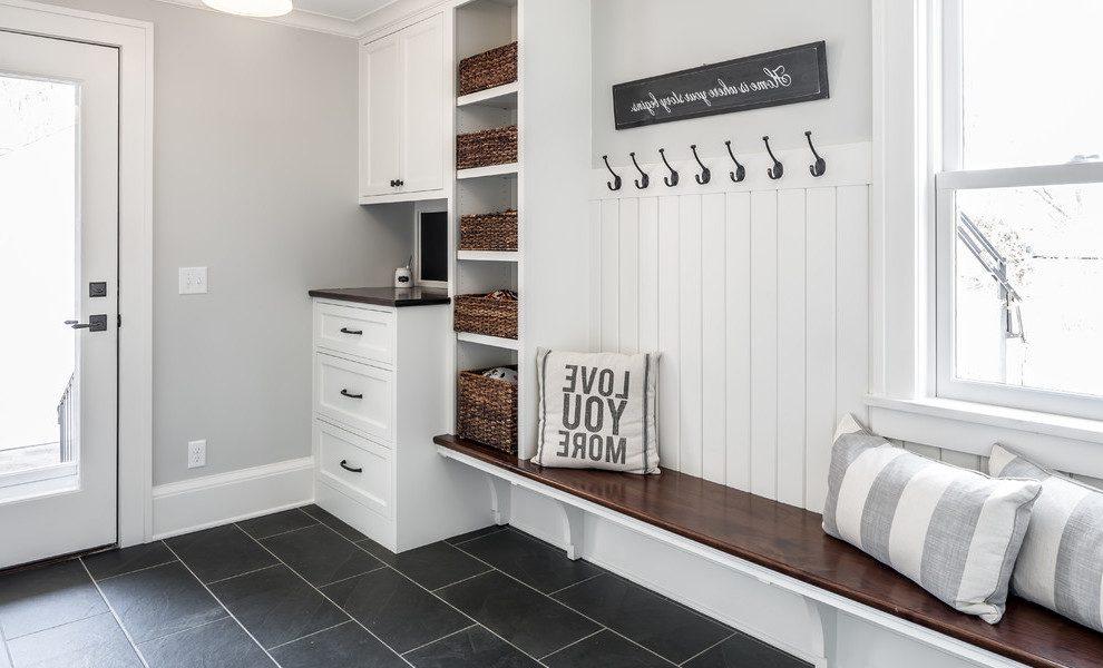 sitzbank f r den flur 19 ideen im skandinavischen stil m bel zenideen. Black Bedroom Furniture Sets. Home Design Ideas