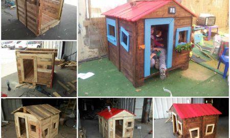 Spielhaus Garten Anleitung