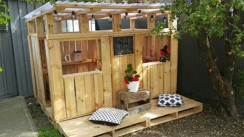 Spielhaus Garten für Kinder