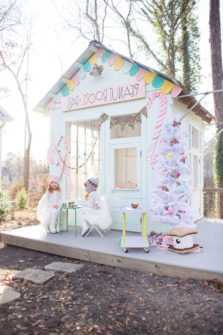 Kinderspielturm Spielhaus Garten