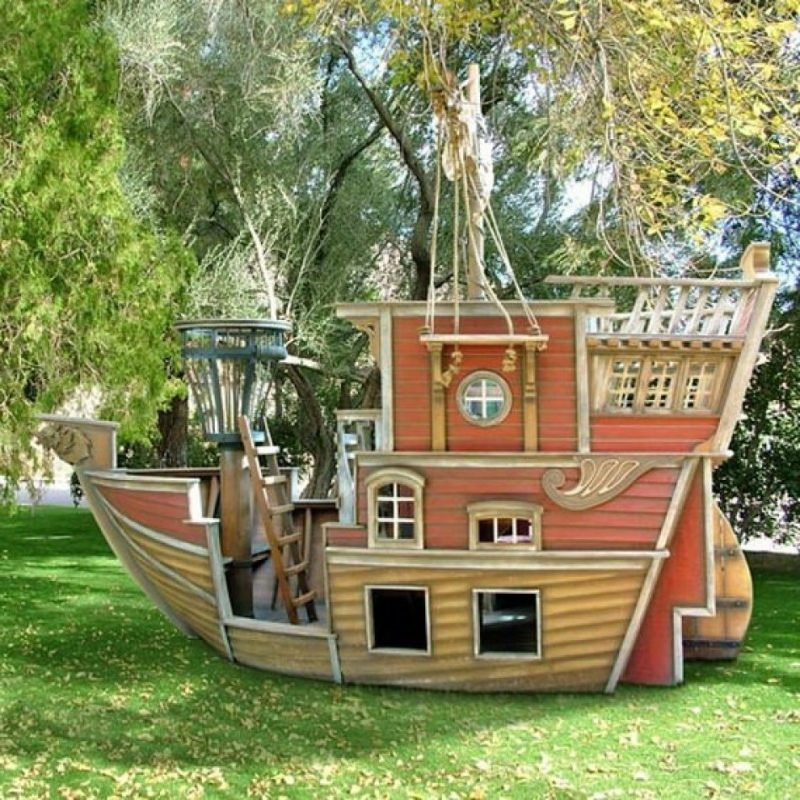Spielhaus Garten Spielgeräte