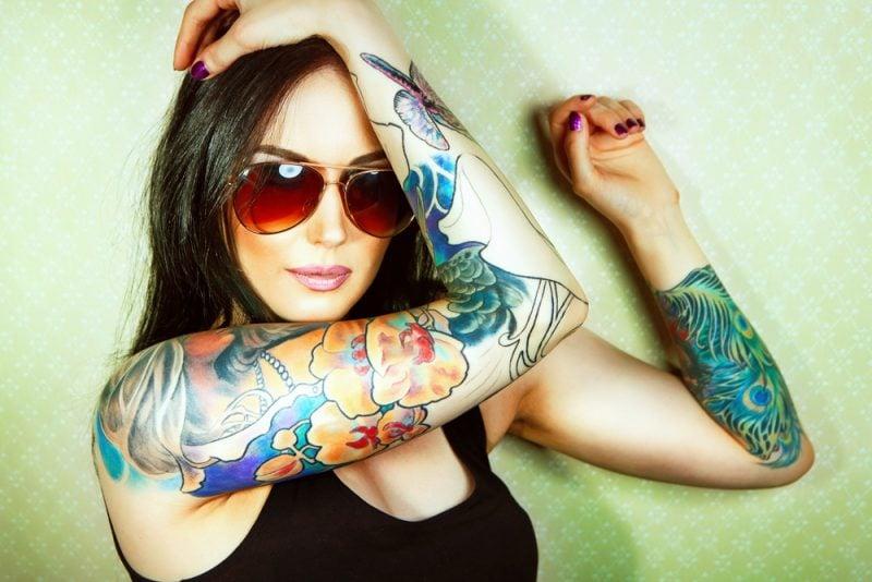 Tattoo entfernen farbige Tattoos