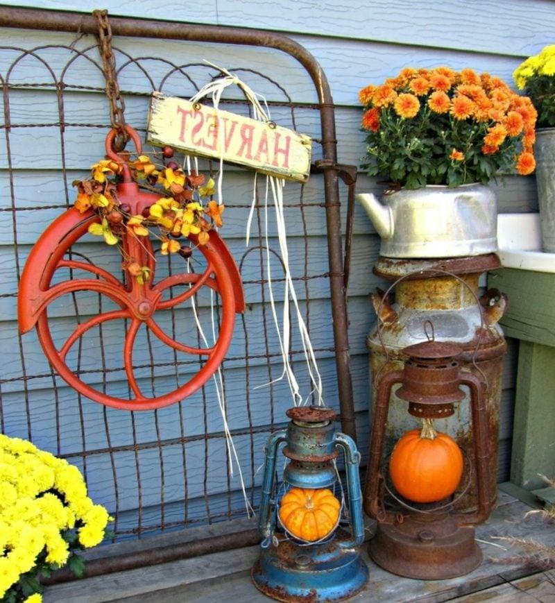 Herbstdeko für den Hauseingang und den Aussenbereich