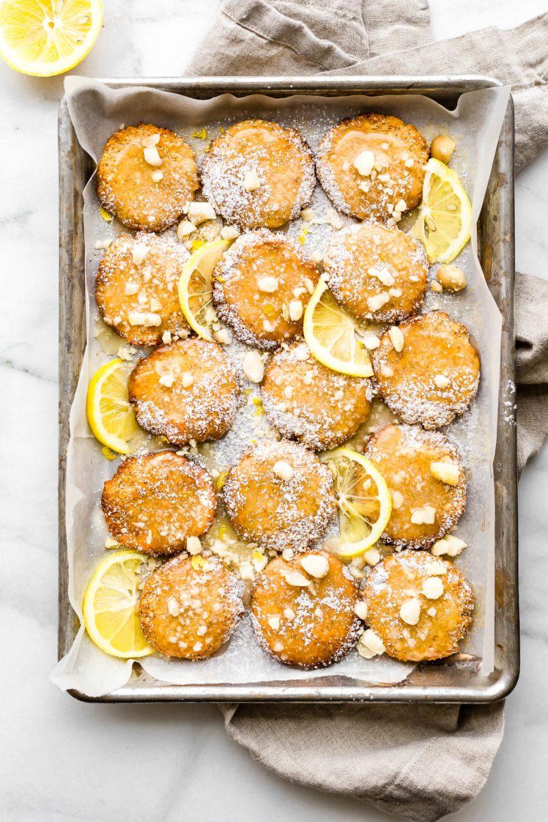 veganer Kuchen Lemon