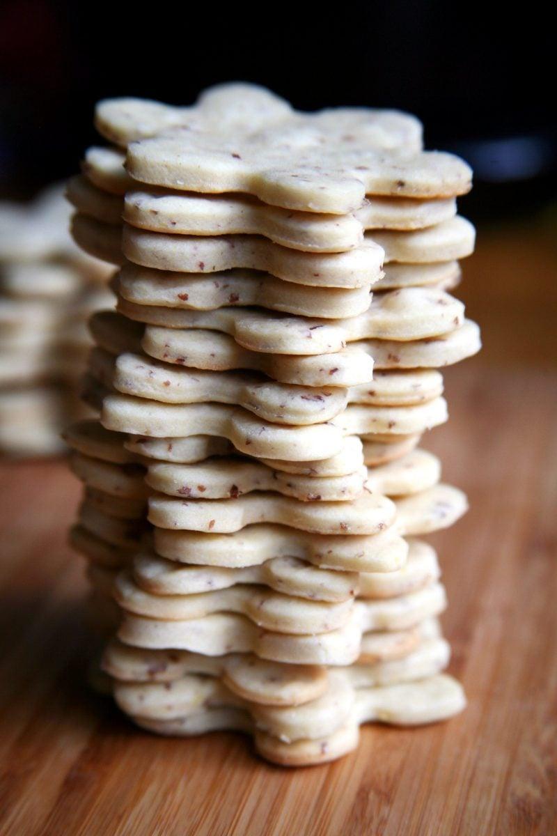 Vegane Plätzchen weiße Choko Chips