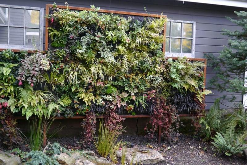 Vertikale Gärten Bauanleitung ein vertikaler garten selber bauen schritt für schritt anleitung