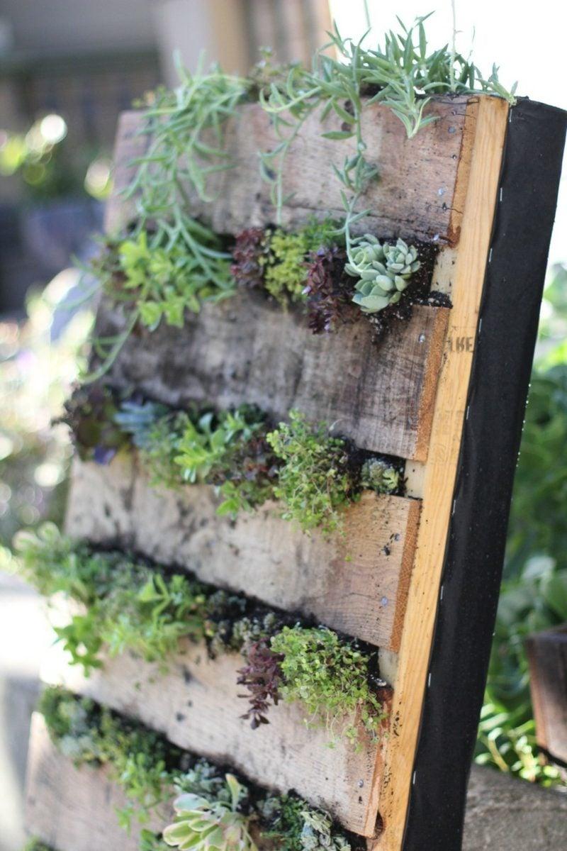 vertikaler garten wandpflanzbehälter
