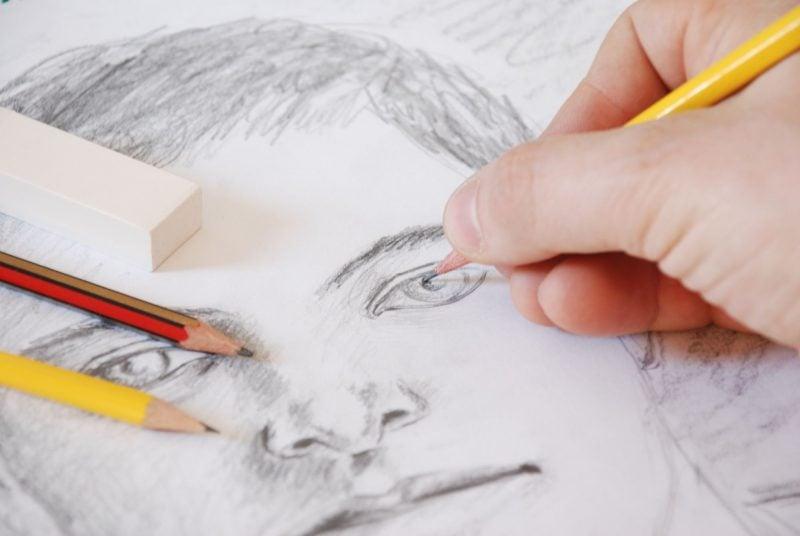 Portrait zeichnen für Anfänger