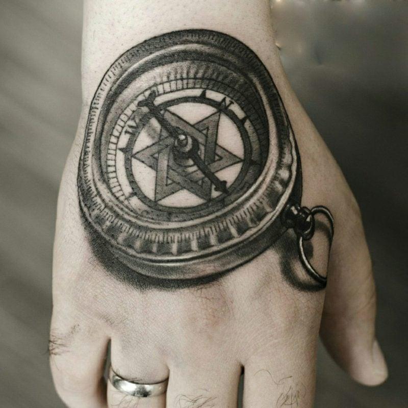 Tattoo Vorlagen Männer Hand 3D